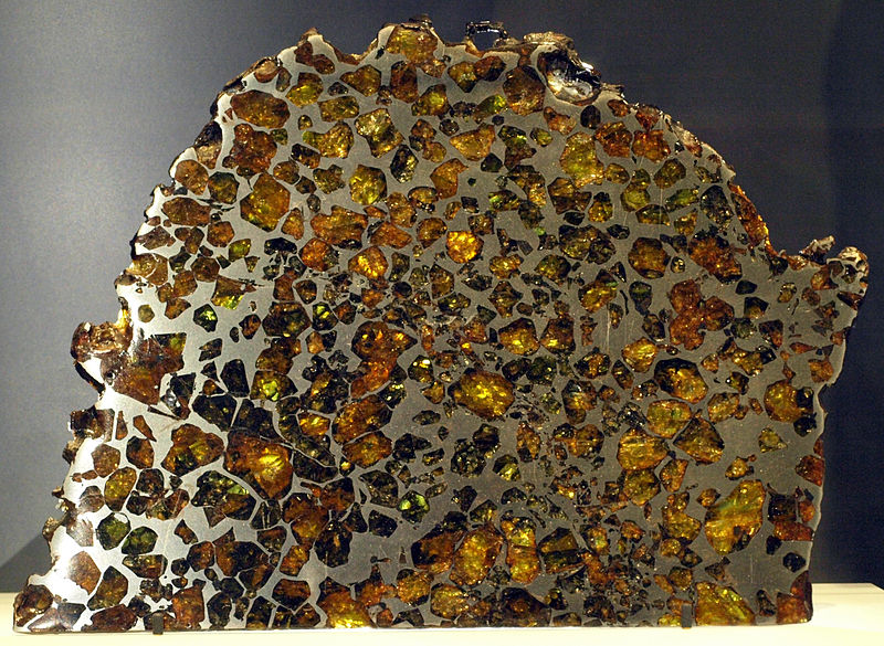 Iron-Nickel meteor thin section