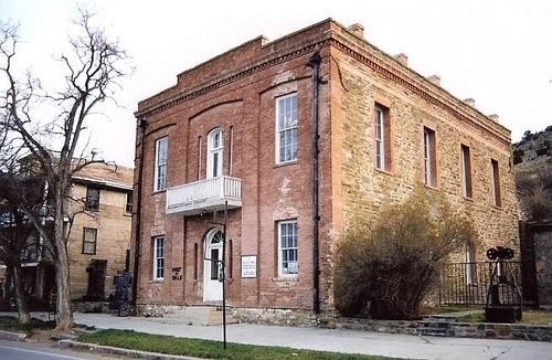 This courthouse cost over $1,000,000 in 1870s money.  Let's put it this way: would you spend $50,000,000 today for said building in the middle of nowhere NV? No, you wouldn't.