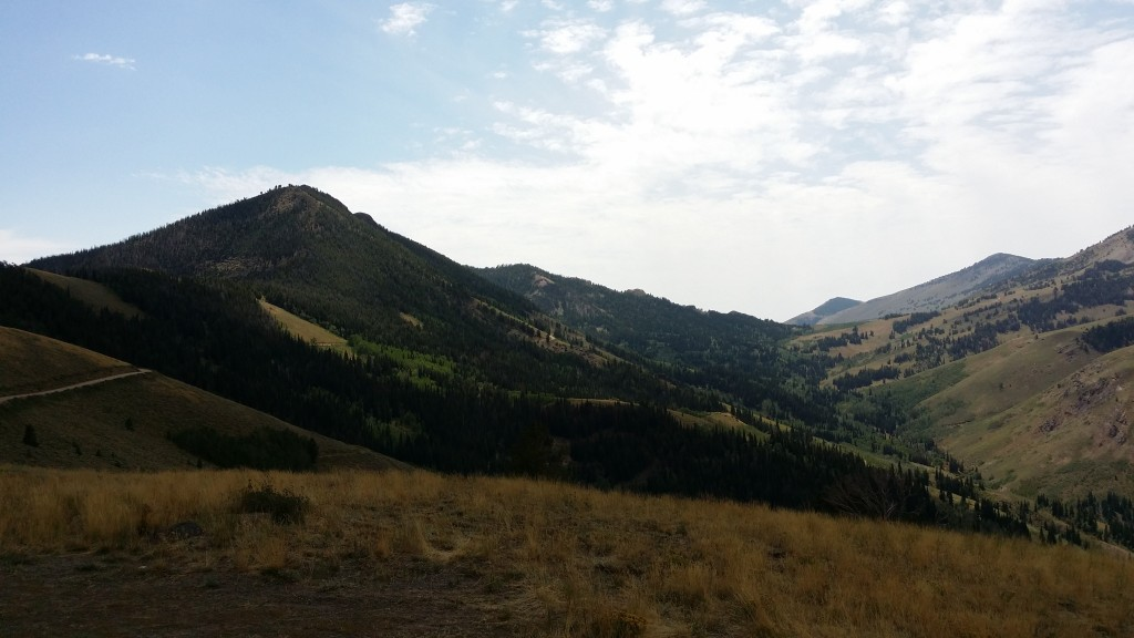 From the summit of the pass into Jarbidge
