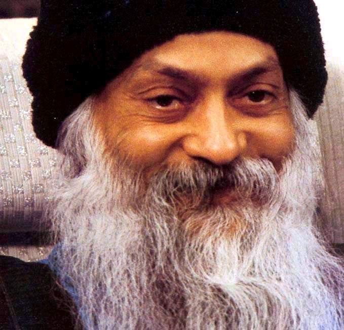 Osho looks old
